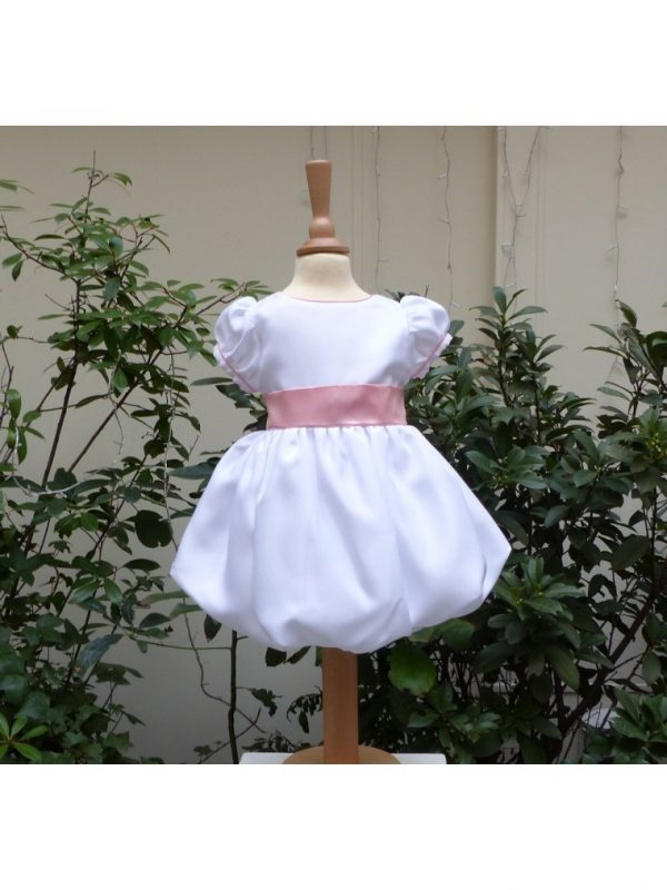 robe-boule-blanc-rose