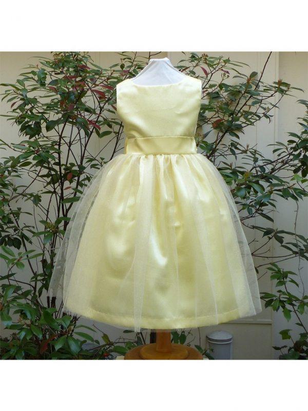 robe-colombe-jaune-argent