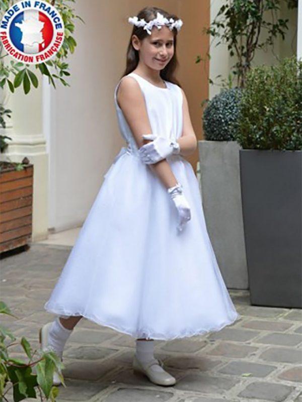 robe-de-communion-diamant-blanche