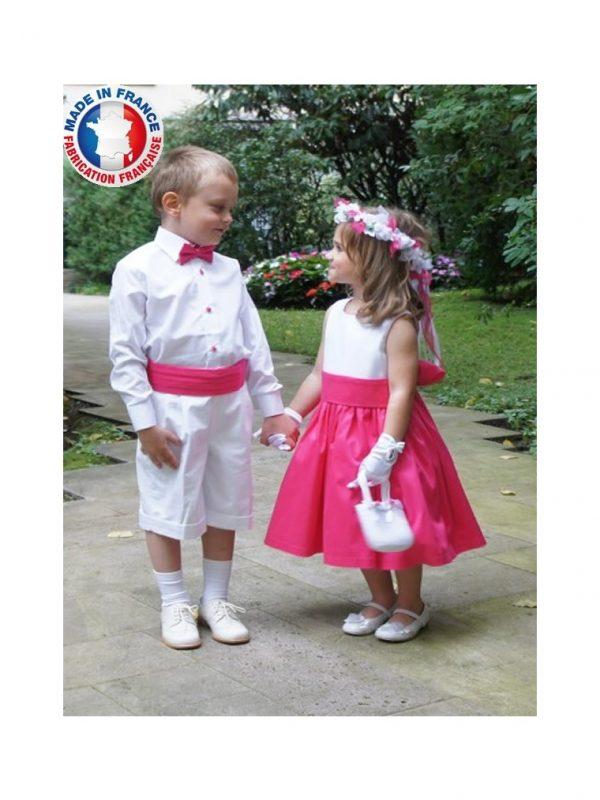 robe-de-cortege-comtesse-blanc-fushia