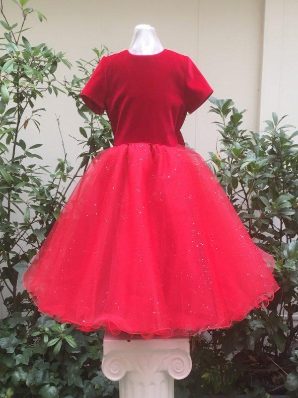 robe-diamant-velours-rouge