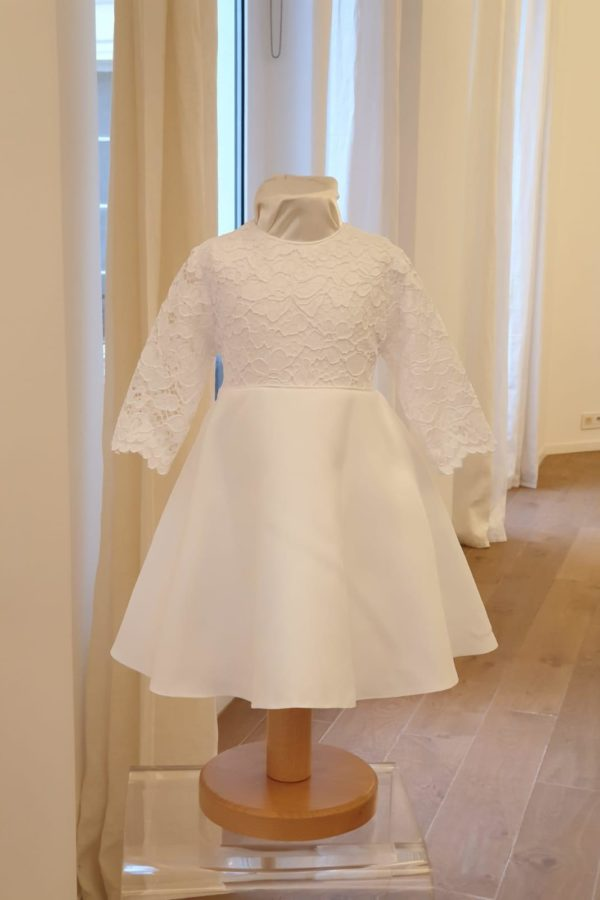 Robe Alexandra blanche