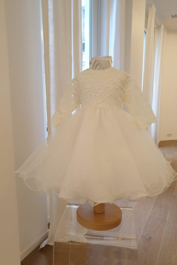 Robe Chloé blanc cassé 135 euro robe en tulle blanc cassé doublée en coton