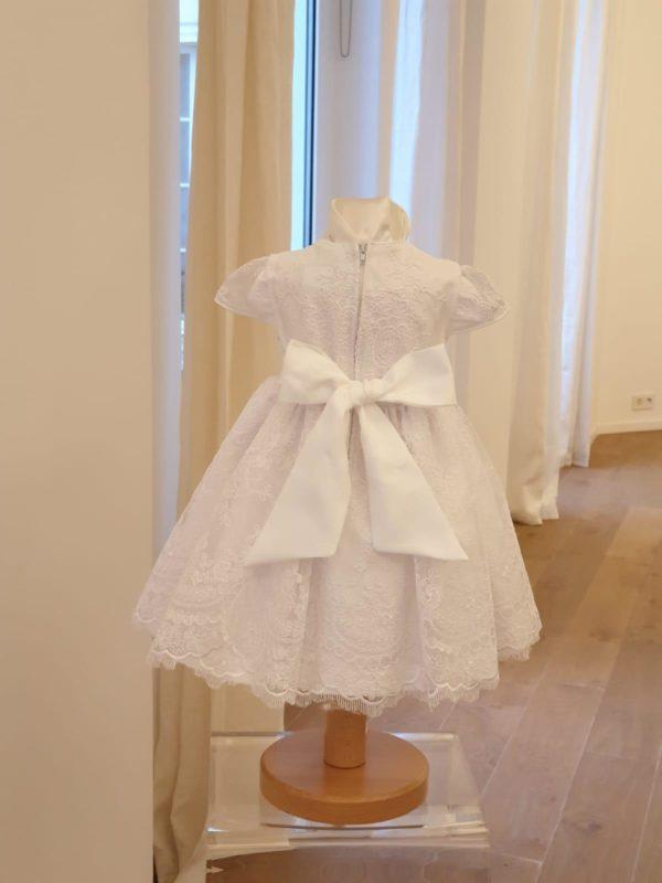 Robe Sissi blanche 145 euro dos