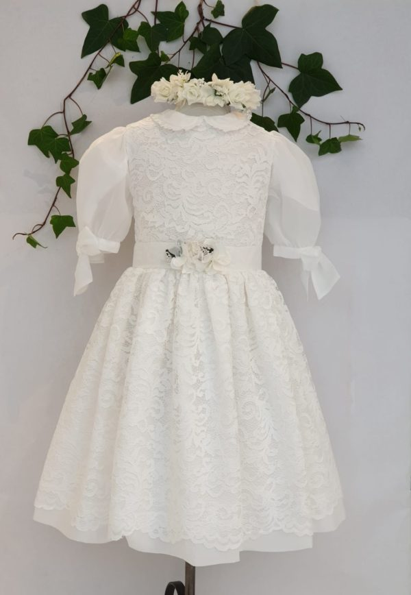 Robe de communion patachou dentelle