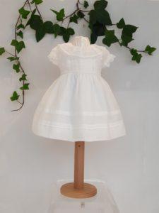robe patachou coton blanc