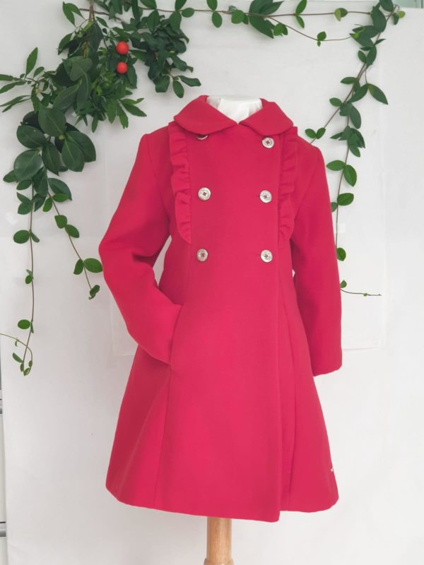 Manteau rouge Mayoral 59 euros du 2 ans
