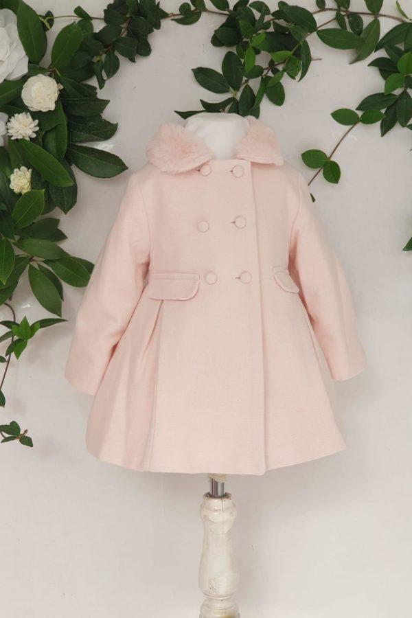 Layette fille manteau patachou rose 85 euros du 1ans au 3 ans