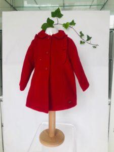 Manteau Mayoral rouge du 1ans au 3 ans 49 euros