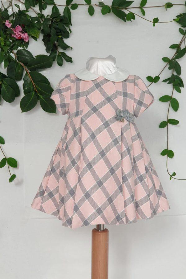 Robe écossaise rose Mayoral 35 euros de 3 mois au 18 mois