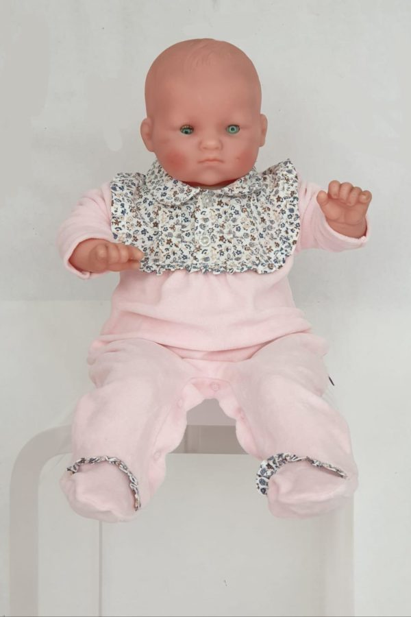 Layette fille pyjama rose liberty 18 euros du 1 mois au 6 mois