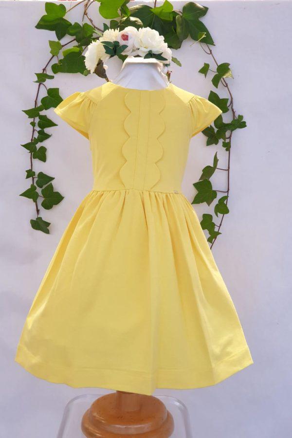 Robe coton jaune Mayoral 31 euros du 2 ans au 9 ans