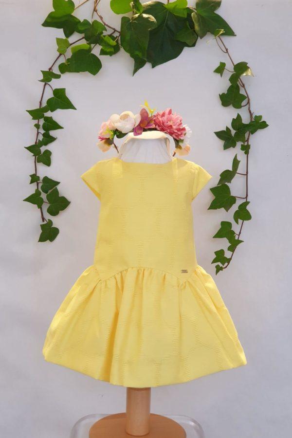 Robe jaune Mayoral 38 euros du 6 mois au 3 ans