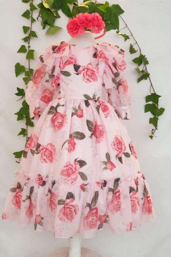 Fille robe patachou imprime rose du 4 ans au 14 ans 89 euros