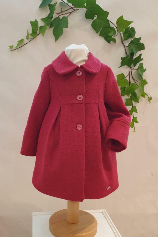 Layette fille manteau mayoral rouge du 6 mois au 3 ans 59 euros