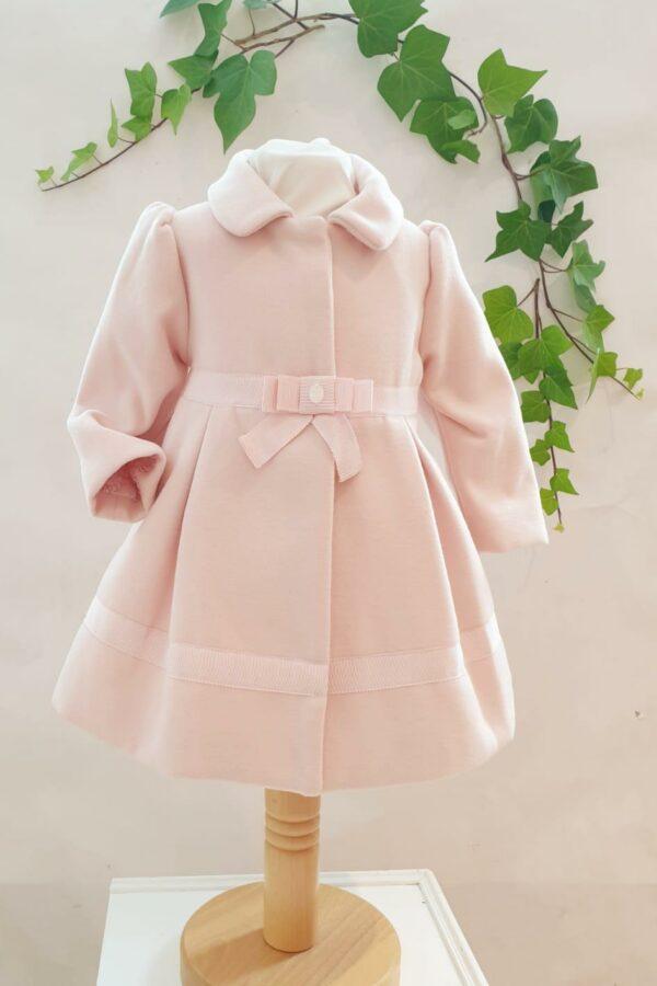 Layette fille manteau patachou rose du 6 mois au 3 ans 89 euros