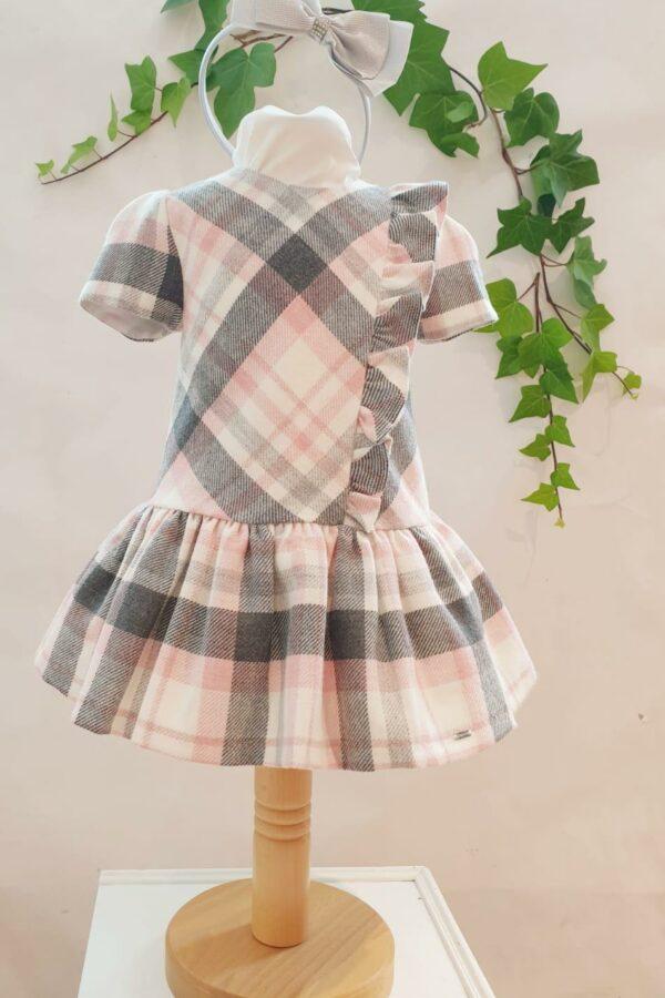 Layette fille robe mayoral à carreaux du 3 mois au 3 ans 39 euros
