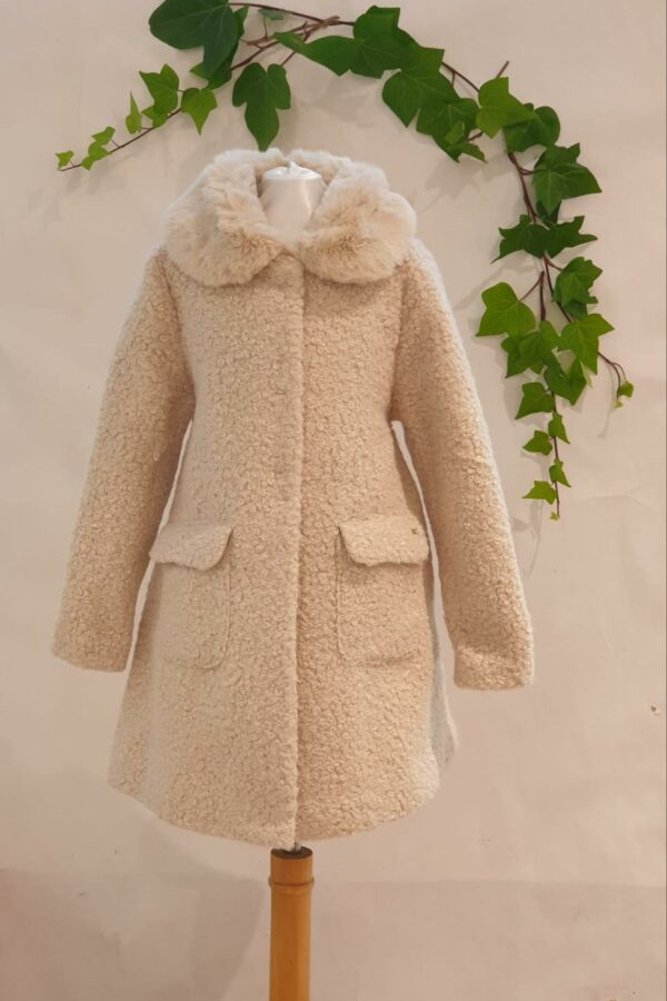 Manteau mayoral beige 56 euros du 2 ans au 9 ans