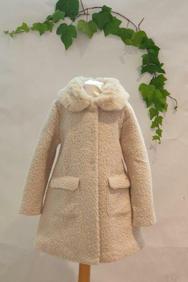 Manteau mayoral beige du 2 ans au 9 àns 56 euros