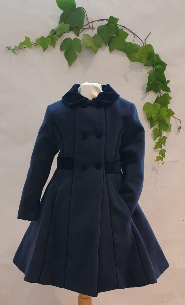 Manteau patachou marine du 4 ans au 12 ans 100 euros